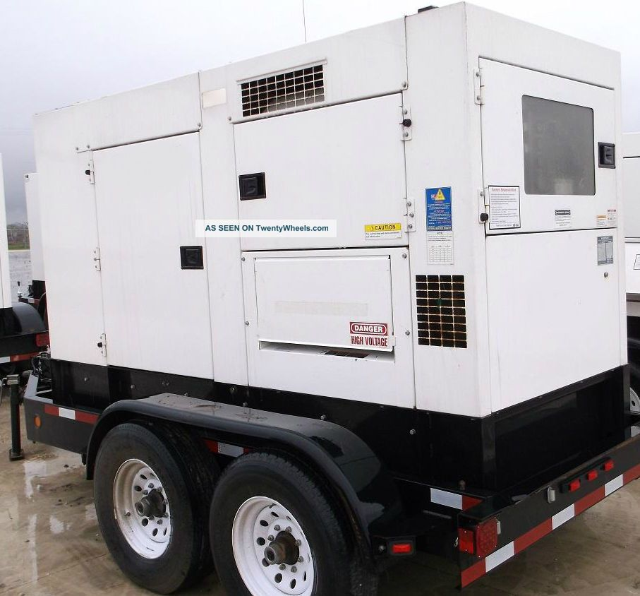2010 Multiquip Dca - 125usi Towable Generator,  Isuzu Diesel Other photo
