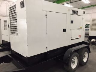 2006 Multiquip Dca - 125usj Towable Generator,  John Deere Diesel photo