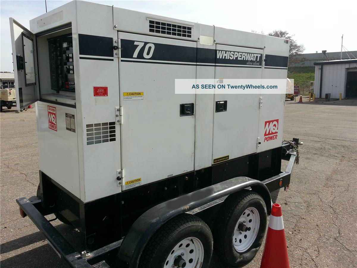 2010 Multiquip Dca - 70usiu 70 Kva Towable Generator Isuzu Diesel Other photo