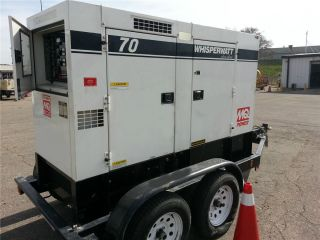 2010 Multiquip Dca - 70usiu 70 Kva Towable Generator Isuzu Diesel photo