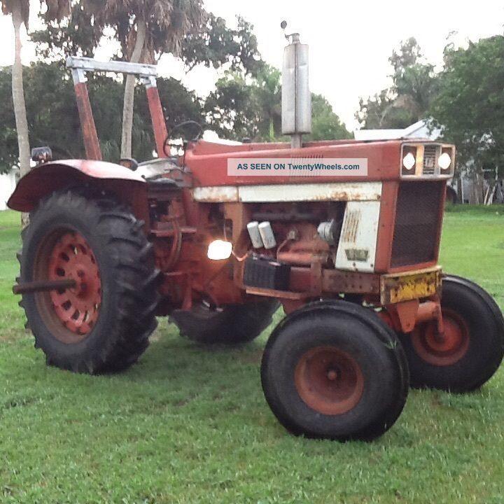 966 International Tractor : International harvester farm tractor