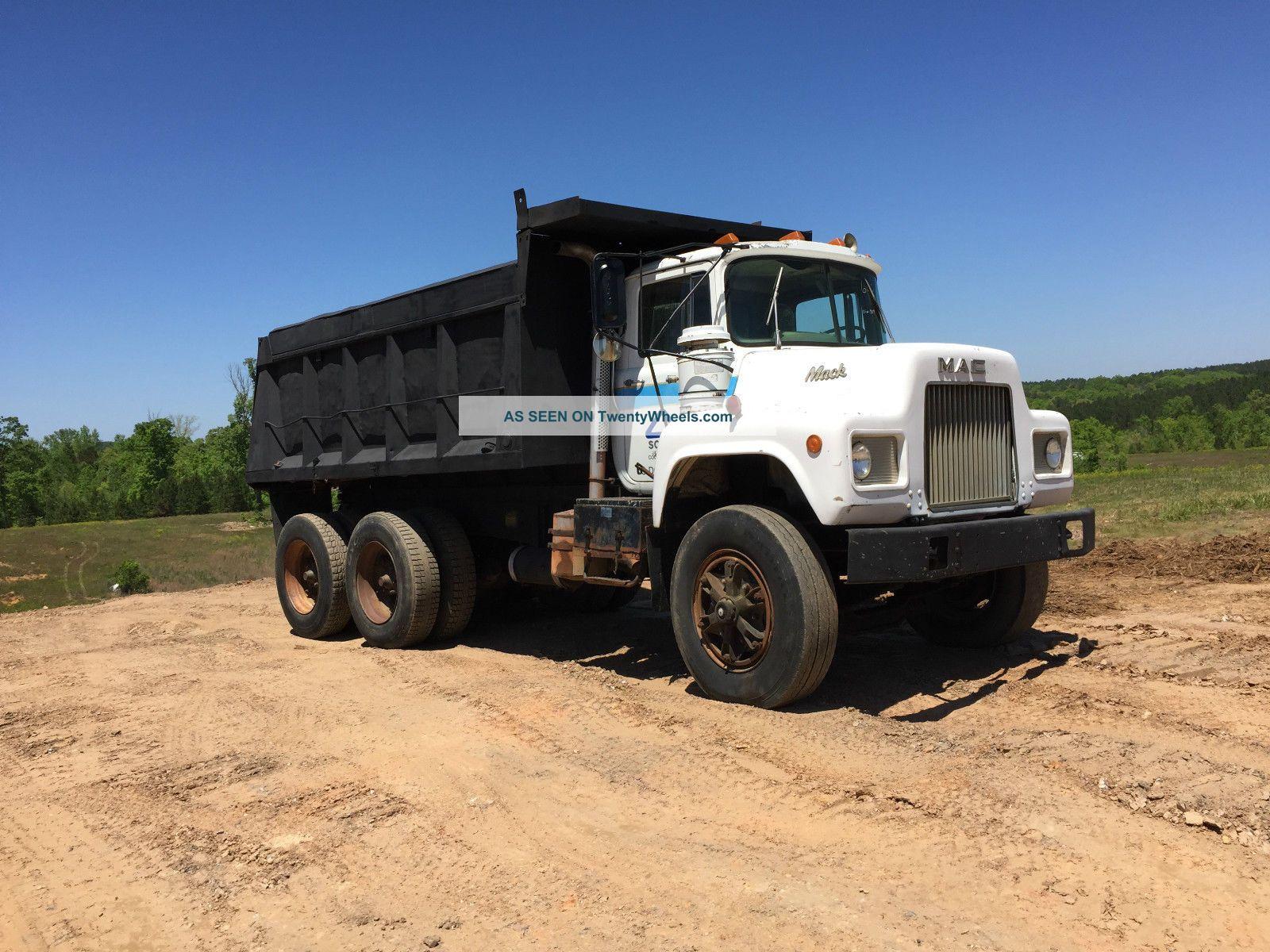 1985 Mack Truck : Mack dm s