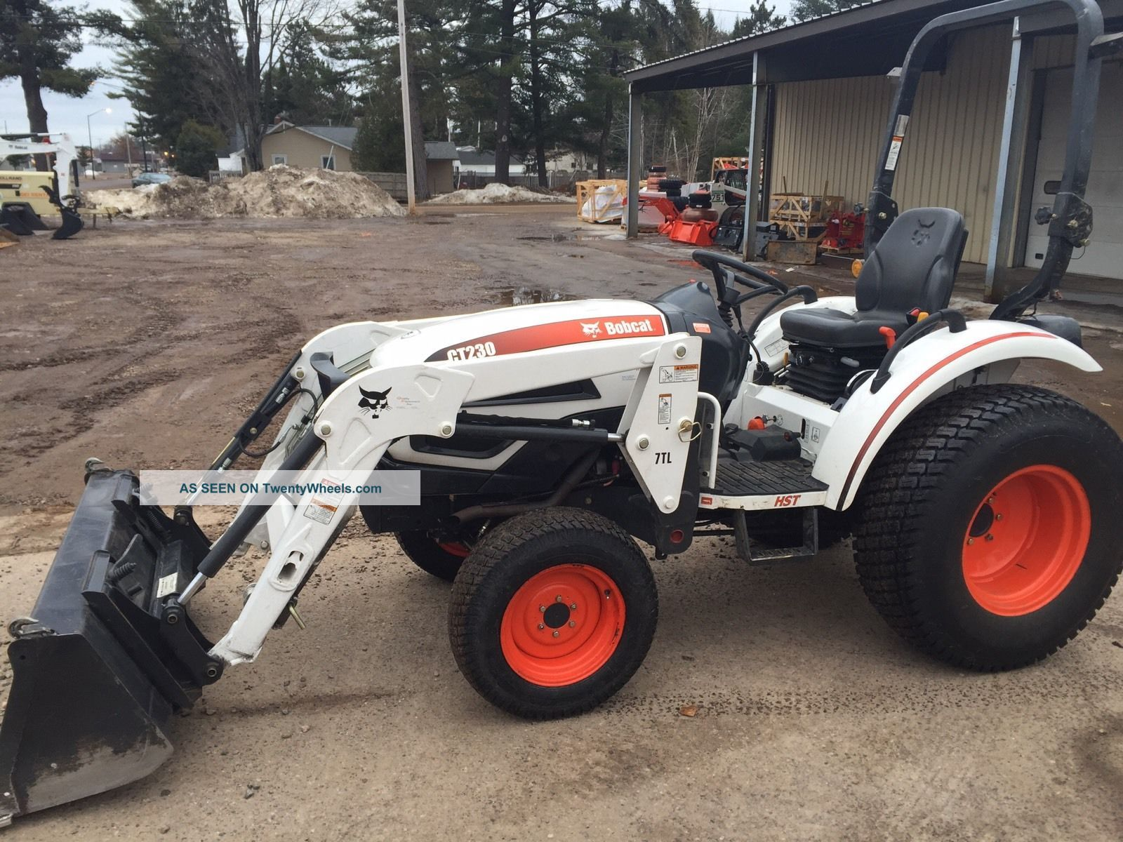 Bobcat Ct 230 Tractor