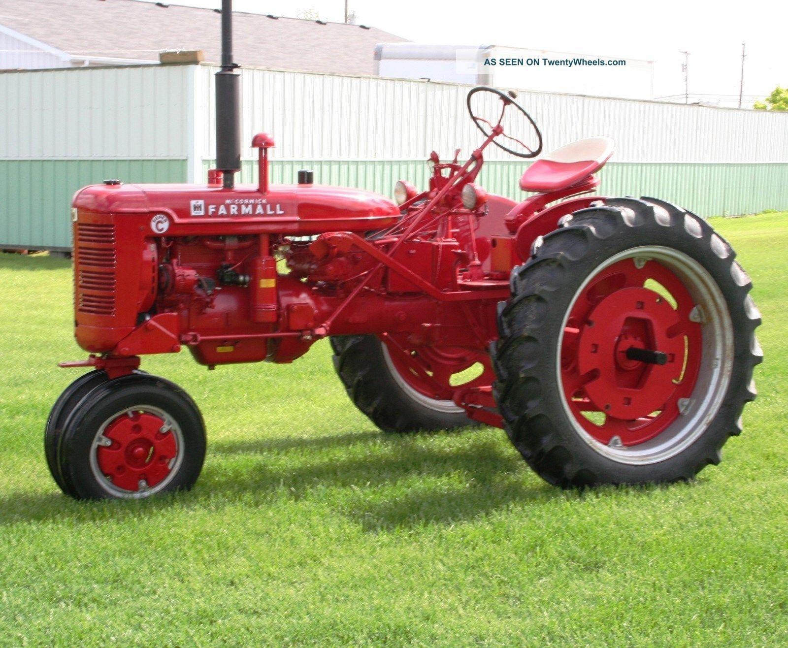 Farmall C Tractor : Antique farmall c tractor