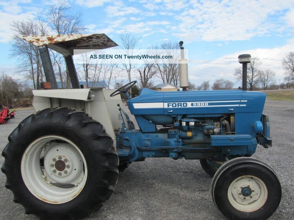 Ford 5900 Tractor Parts : Ford tractor canopy