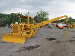 Caterpillar D4d Crawler Dozer Pipelayer Winch Good U/c Power Shift photo
