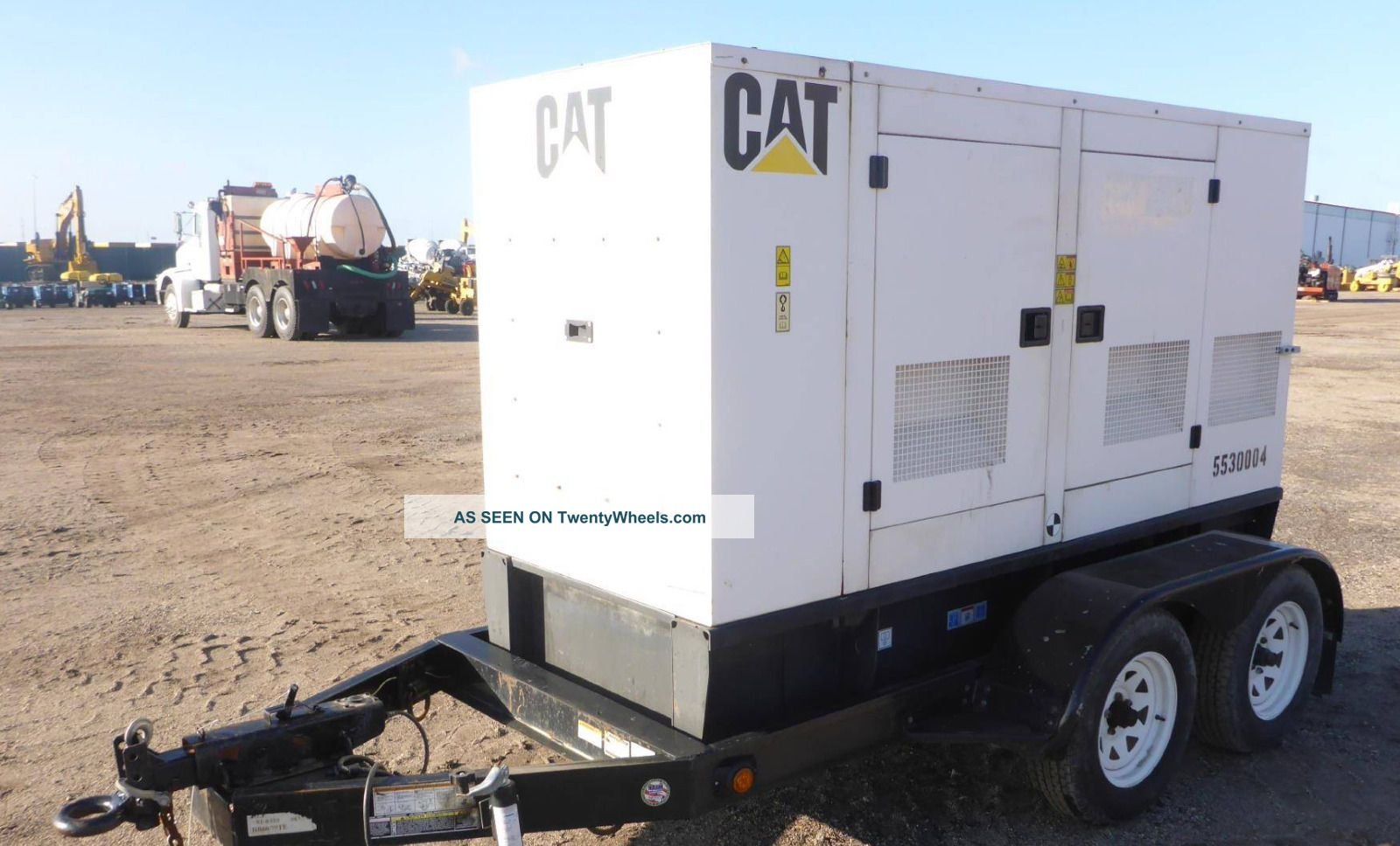 2006 Caterpillar Xq30 27kw Diesel Portable Generator 3 Phase Other photo