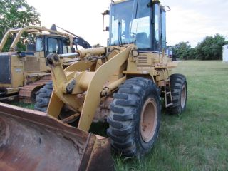 1998 Caterpillar 924f Wheel Loader With Cab photo