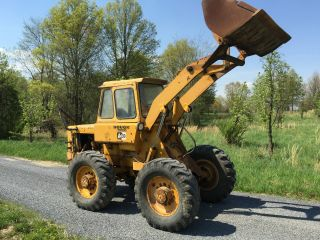 Hough / International H 30 Enclosed Cab Wheel Loader Pay Loader Cheap photo