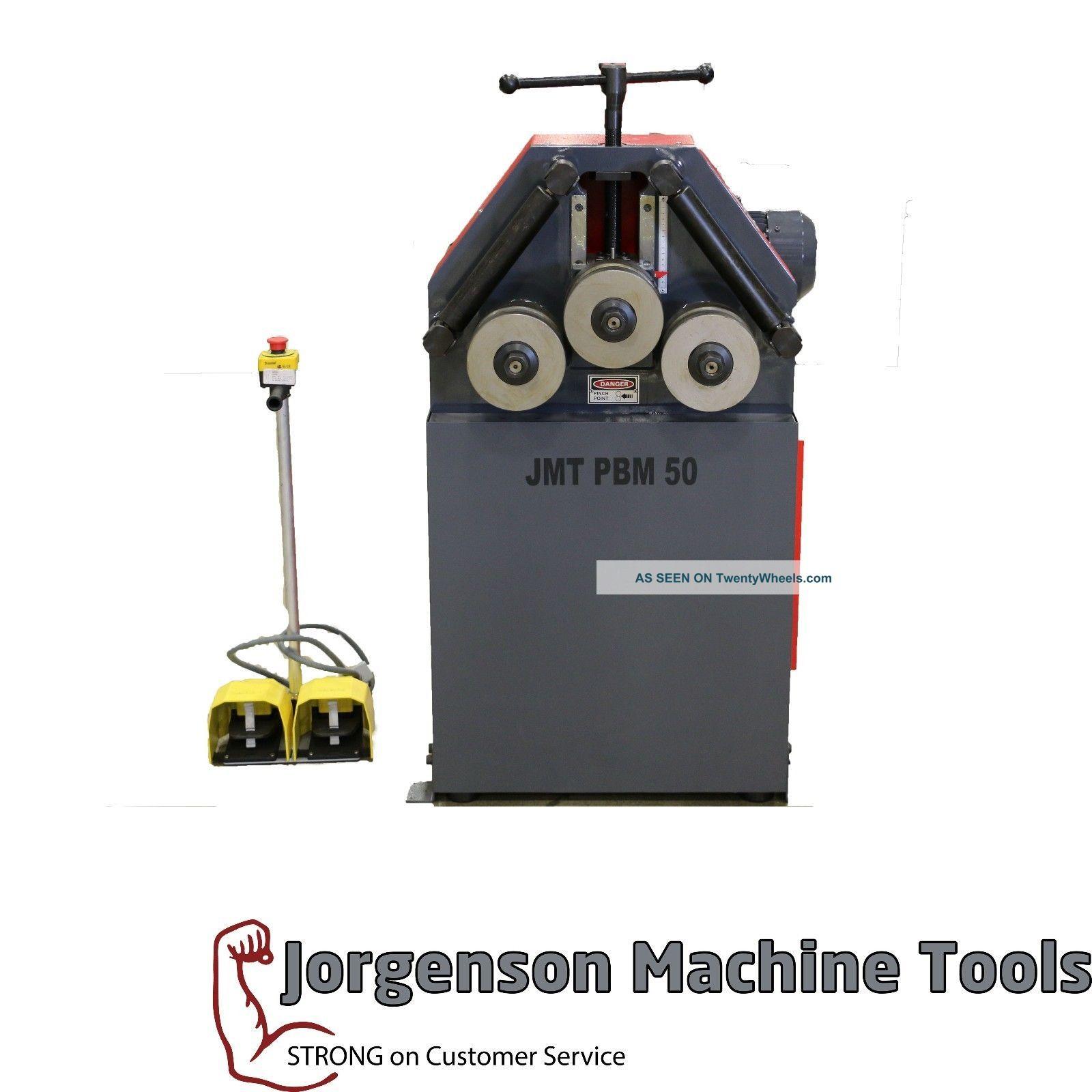 Jmt - Pbm 50 Mechanical Angle Roll Metal Bending Machines photo