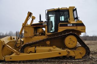 Caterpillar D6r Xw Crawler Dozer photo