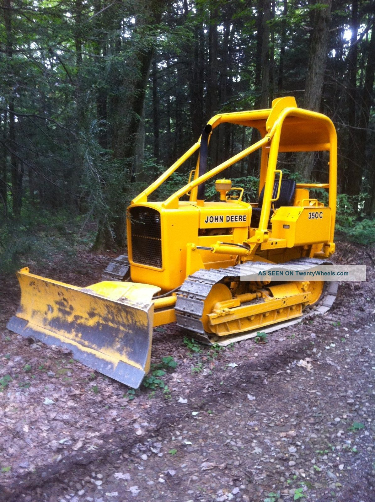 Tractor Forestry Package : John deere c bulldozer