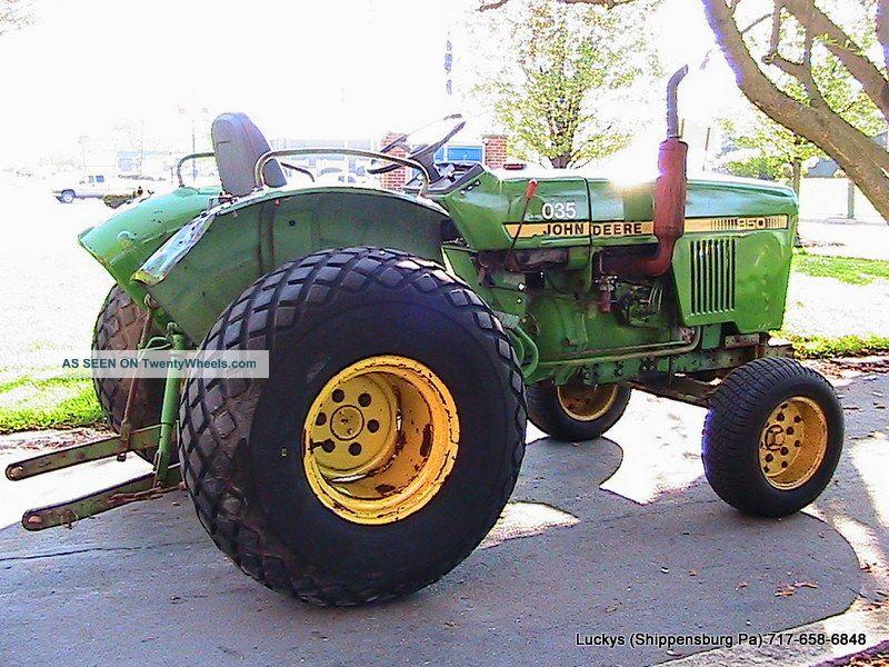 Yanmar Tractor 2 Wheel : John deere tractor diesel wd hp yanmar