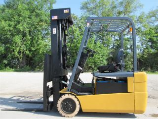 2009 Caterpillar Et4000 - Ac Forklift Lift Truck Hilo Fork,  Cat,  Yale,  Hyster photo