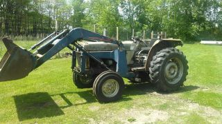 White 2 - 45 Tractor With Loader photo