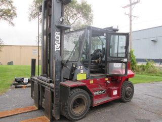 2004 Taylor Thd160.  16000 Lb Capacity Forklift.  Diesel Engine.  Pneumatic Tires photo