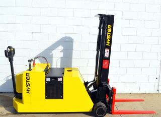 Hyster W40xtc 24v Electric 4000 Lb Walk Behind Forklift Walkie Stacker photo