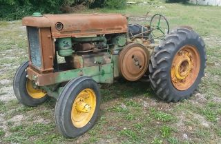 Aos John Deere 1937 Orchard Tractor Ie - Unstyled Ao Bo A Lindeman Gpo Vineland photo