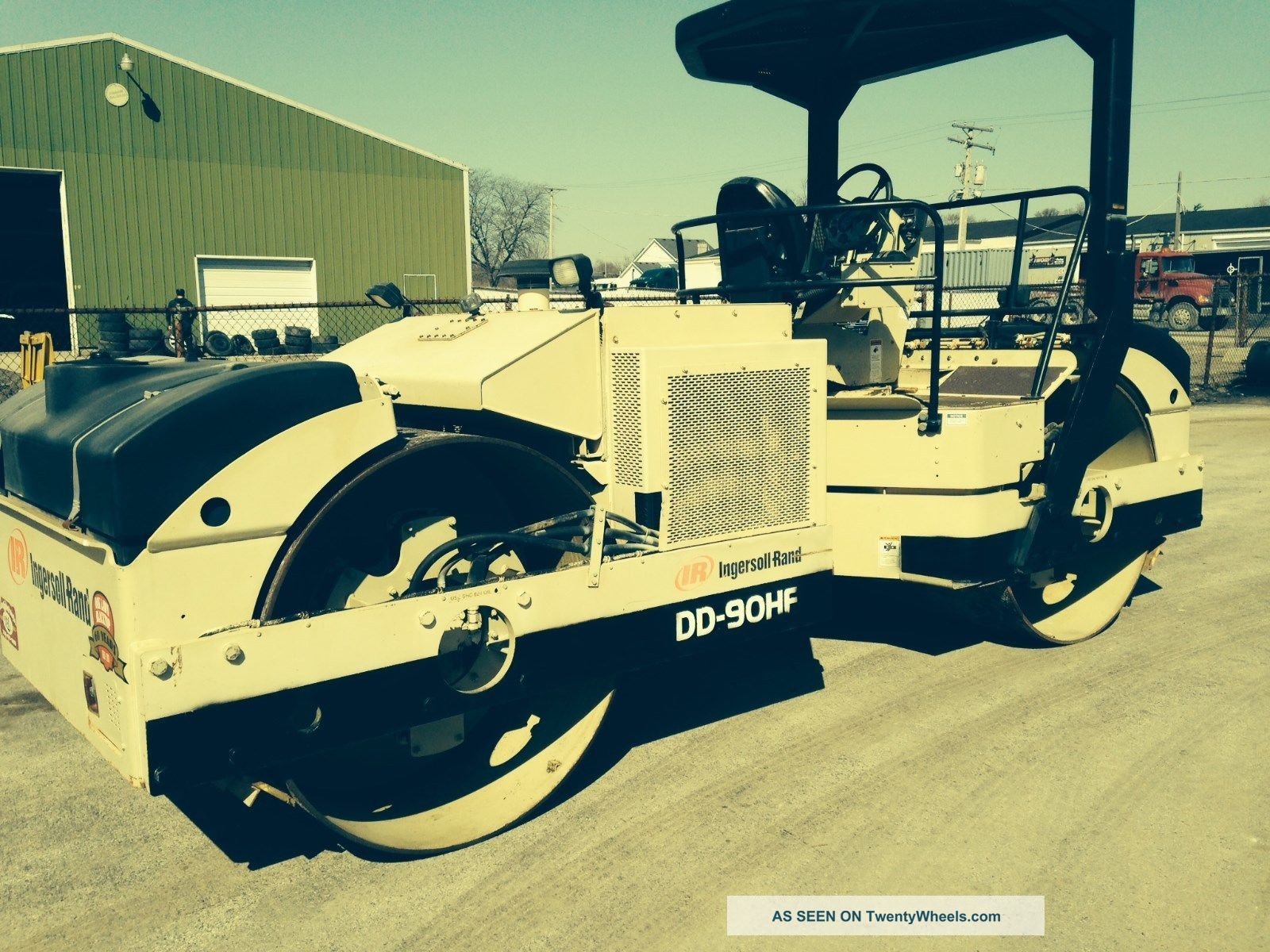 Asphalt Roller Ingersoll Rand Dd 90hf Owner Other photo