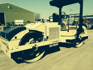 Asphalt Roller Ingersoll Rand Dd 90hf Owner photo