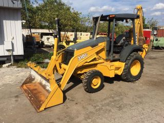 2006 John Deere 310g 4x4 Backhoe Loader photo