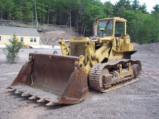 Dresser International 250b Crawler Track Loader/ Traxcavator Excavator 4 In 1 photo