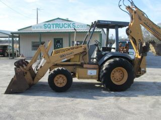 1995 Case 590 Sl 4x4,  4&1 Backhoe/loader photo