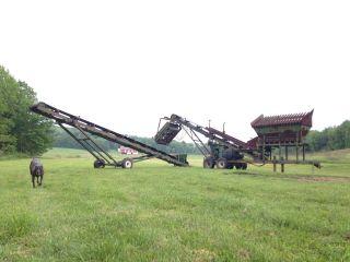 Ohio Central Steel Topsoil / Gravel Screener Portable,  Cheap, photo