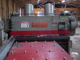 "Cincinnati 1806 Mechanical Power Squaring Shear 6 ' X 3/8"" photo"