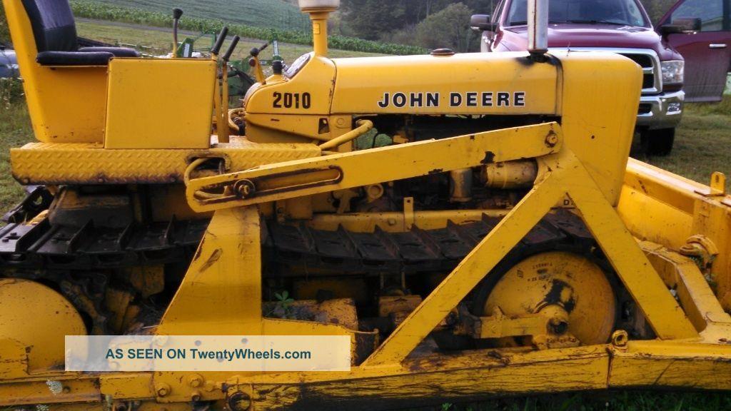 John Deere Model 2010 Dozer Good Running Machine