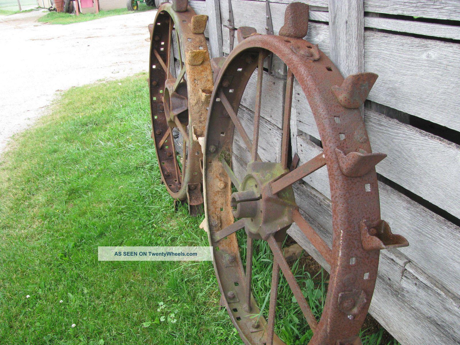 John Deere Steel Wheels : John deere b unstyled steel wheels