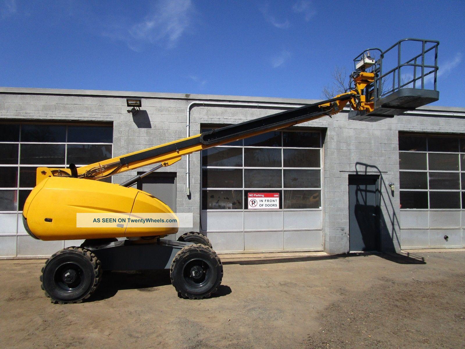 Single Man Lift 40 Ft : Haulotte hb ft telescopic diesel boom lift awp