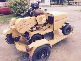 Stump Grinder - Rayco Rg25a - With Trailer photo