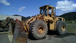 Cat 980a Front End Loader 5 Yard Bucket S/n 42h718 photo