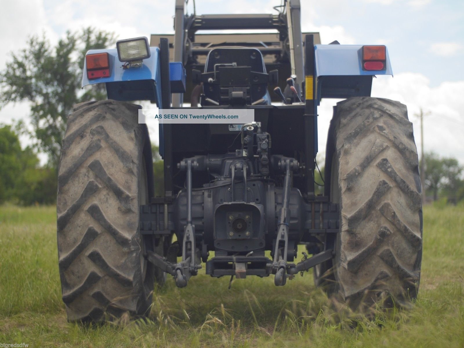 Bobcat T190 Specs >> 75hp Holland Ford 6640 Tractor With Loader And Gear Shift Transmission