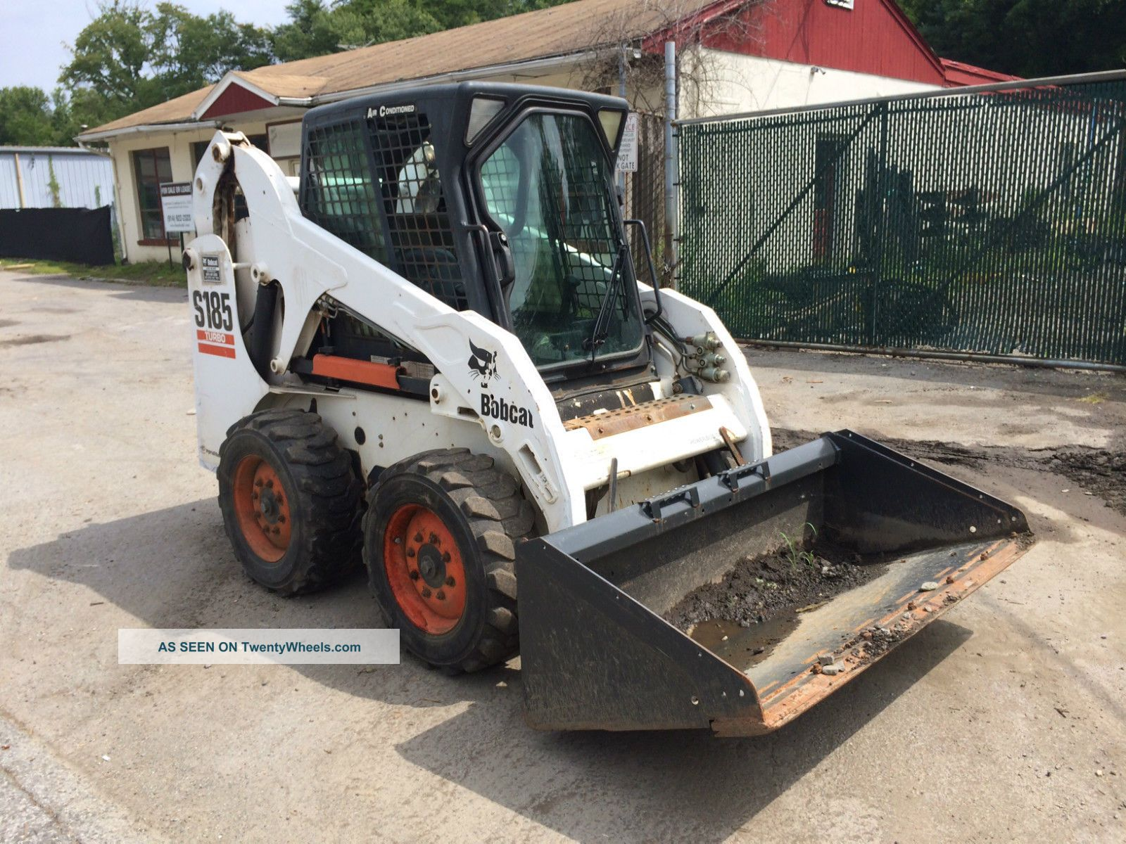 2003 bobcat s185 weight loss