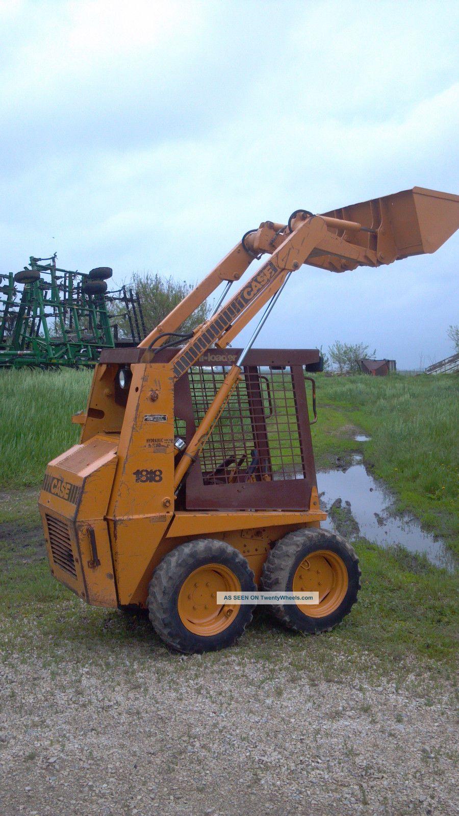 Bobcat Skid Steer Cover : Case gas skidsteer skidloader mini skid wheel loader