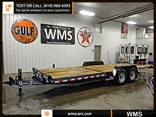 2015 Quality Pro Series Split Deck Equipment Trailer 15,  000 Gvwr 23.  5 Feet Wms photo