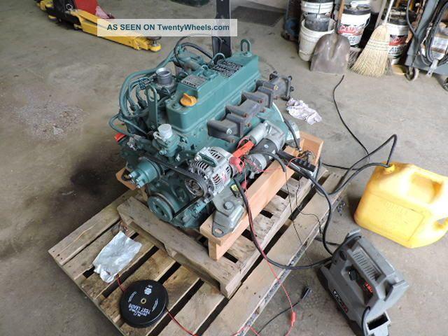 2011 Volvo Yanmar D2  2dcae3 4 Cylinder Diesel Engine 36