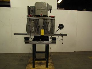 Denison 4 Ton Hydraulic Multipress On Stand W/starter 4 Post Die 230/460v photo