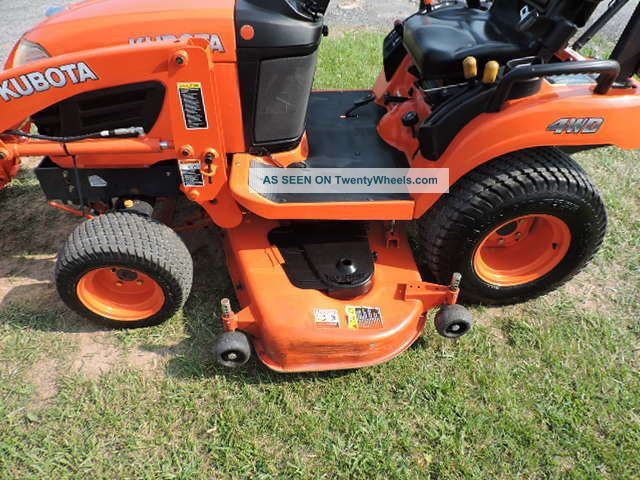 Kubota Sub Compact Tractors : Kubota bx sub compact tractor loader quot belly
