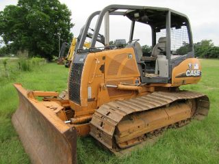 2007 Case 850kwt Bulldozer 6way Blade With Only 2,  860 Hours photo