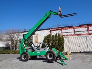 2006 Genie Gth1056 10,  000 Lbs Forklift Telescopic Telehandler Boom Diesel - 4x4 photo