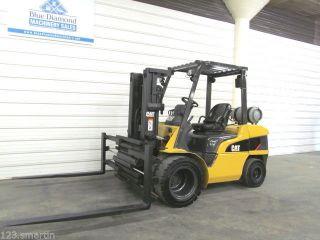 2005 Cat 7,  000 Lb Pneumatic Forklift,  Triple,  72