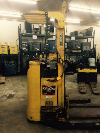 Barrett Standup Electric Forklift Model Rst - 30 - Tl With Battery photo