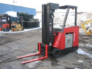 2003 Raymond Quad Mast Forklift Dockstocker/pacer 4000 270