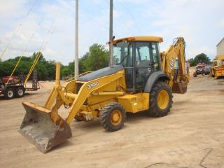 2006 John Deere 310g 4x4 Loader Backhoe photo