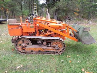 1952 Oliver Oc3 - H2 Loader Dozer Fully Operating Condition photo