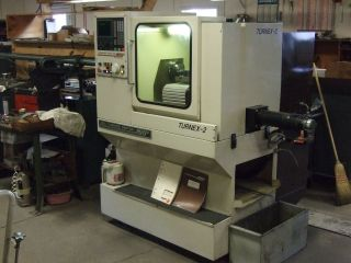 1988 Mhp Turnex - 2 Cnc Turning Center With Upgraded Options Running In Plant Now photo
