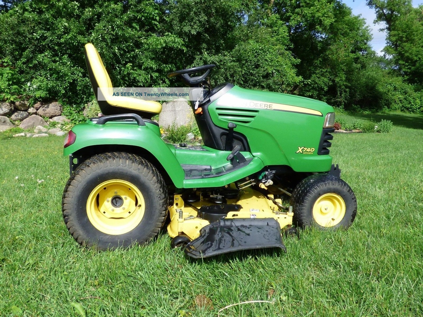 for john deere lawn mowers trailers